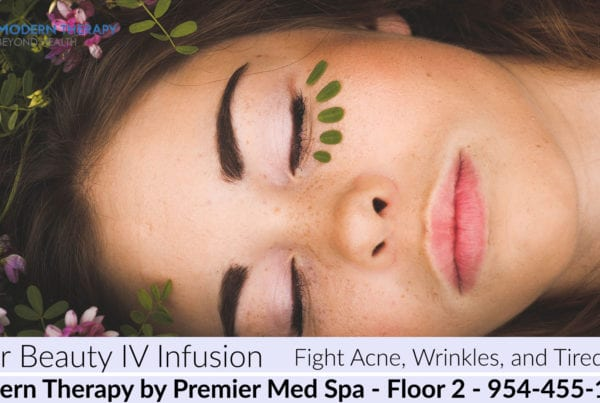 Inner Beauty IV Infusion - Fight Acne Wrinkles Tired Skin